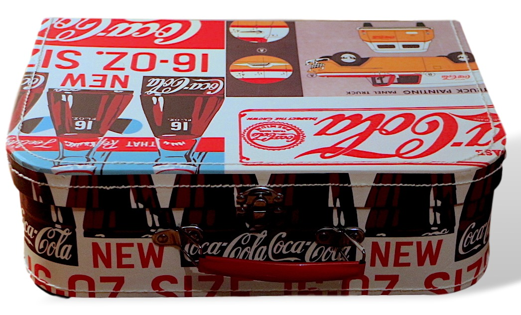 Case coca-cola retro