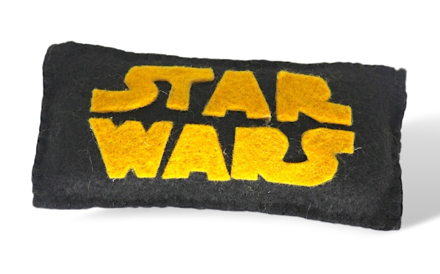 Logotipo Star Wars de crochet
